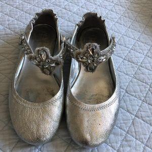 Tory Burch Minnie Embellished Ballet Flat 7.5